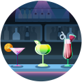 おしゃれな空間でカワイイ女の子と素敵なお酒を〜Girl's Bar Eria