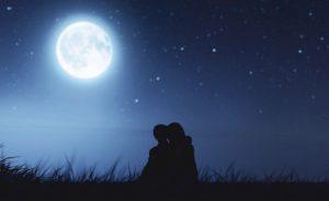 癒しの満月