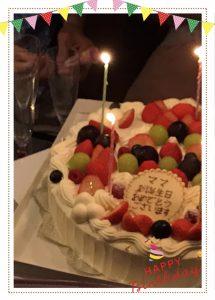 ママお誕生日Party